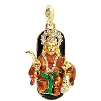 Enter Hanuman 8 GB USB 2.0 Fancy Pendrive (Black)