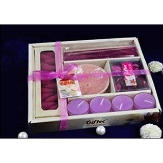 Aroma Candle Potpourri Gift Set