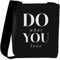 Snoogg Do What You Love Designer Protective Back Case Cover For Oneplus 3 Designer Womens Carry Around Cross Body Tote Handbag Sling Bags RPC-3551-SLTOBAG