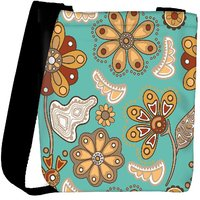 Snoogg Colorful Floral Seamless Pattern In Cartoon Style Seamless Pattern Designer Protective Back Case Cover For Oneplus 3 Designer Womens Carry Around Cross Body Tote Handbag Sling Bags RPC-4169-SLTOBAG