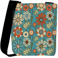 Snoogg Colorful Floral Seamless Pattern In Cartoon Style Seamless Pattern Designer Protective Back Case Cover For Oneplus 3 Designer Womens Carry Around Cross Body Tote Handbag Sling Bags RPC-4170-SLTOBAG