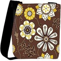 Snoogg Colorful Floral Seamless Pattern In Cartoon Style Seamless Pattern Designer Protective Back Case Cover For Oneplus 3 Designer Womens Carry Around Cross Body Tote Handbag Sling Bags RPC-4173-SLTOBAG