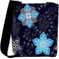 Snoogg Colorful Floral Seamless Pattern In Cartoon Style Seamless Pattern Designer Protective Back Case Cover For Oneplus 3 Designer Womens Carry Around Cross Body Tote Handbag Sling Bags RPC-4177-SLTOBAG
