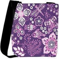 Snoogg Colorful Floral Seamless Pattern In Cartoon Style Seamless Pattern Designer Protective Back Case Cover For Oneplus 3 Designer Womens Carry Around Cross Body Tote Handbag Sling Bags RPC-4182-SLTOBAG