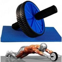 Zu Tisch Total Body Fitness Workout - Ab Roller Ab Wheel Abdominal Workout Roller For Ab Exercises
