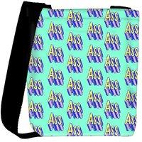 Snoogg Im An Ass Gift Designer Protective Back Case Cover For Oneplus 3 Designer Womens Carry Around Cross Body Tote Handbag Sling Bags RPC-3364-SLTOBAG