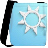 Snoogg Abstract Summer Background Designer Womens Carry Around Cross Body Tote Handbag Sling Bags RPC-3834-SLTOBAG
