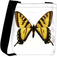 Snoogg Digital Painting Of A Butterfly Designer Protective Back Case Cover For Oneplus 3 Designer Womens Carry Around Cross Body Tote Handbag Sling Bags RPC-4284-SLTOBAG