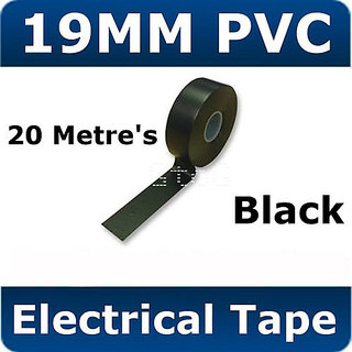 Qty 3 20 Metre's Electrical PVC Insulating Insulation Tape