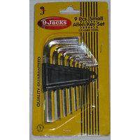 9.JACKS Make Allen Key Set - MM / INCH - 9 Pcs Set Best Quality