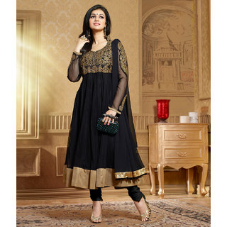 Black Color Ayesha Anarkali Suit