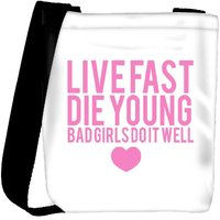 Snoogg Bad Girls Do It Well Designer Protective Back Case Cover For Oneplus 3 Designer Womens Carry Around Cross Body Tote Handbag Sling Bags RPC-3472-SLTOBAG