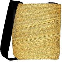 Snoogg Bamboo Mat Background Designer Womens Carry Around Cross Body Tote Handbag Sling Bags RPC-3961-SLTOBAG