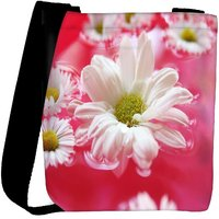 Snoogg Beautiful Flower In Nature Background Designer Protective Back Case Cover For Oneplus 3 Designer Womens Carry Around Cross Body Tote Handbag Sling Bags RPC-3979-SLTOBAG