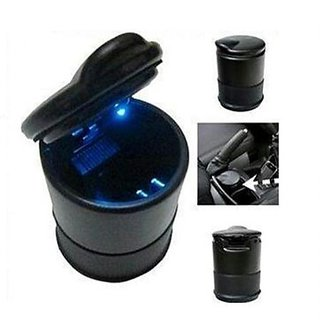 Car Blue LED Ash Tray Excellent Quality Must For Every Car