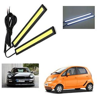 Car Day Time Running Light Drl ( White Clour) Universal for all car