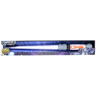 Space Wars Series Planet Of Toys Space Sword White 57Cms(With Led Lights And Sounds)