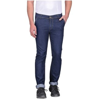 Indiana Regular Fit Denim Jeans -Blue