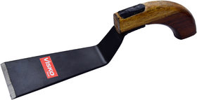 Visko 514W1 1 inch Khurpa Wooden Handle