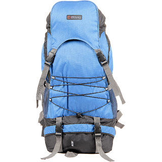 Colourful Blue  Grey Rucksack Bag (Extra Large, 23 Inches )