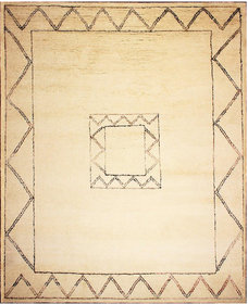 Rugsville Beni Ourain Berber Moroccan Ivory Wool Rug