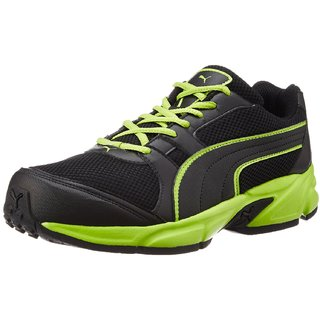 Puma Strike Fashion Ii Idp Men'S Black Running Shoes
