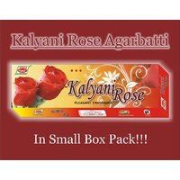 Incense Sticks Kalyani Rose Agarbatti - Small Box