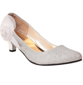 MSC Women's White Heels