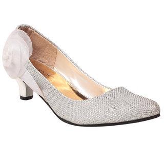 Msc Women'S White Platform Heel