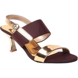 Msc Women'S Brown Platform Heel