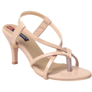 MSCR Women's Cream Heels