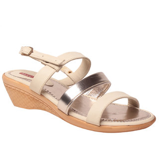 MSC Women's White Sandals
