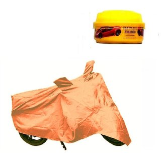 Buy Bull Rider Bike Body Cover With Mirror Pocket For Vespa Colour