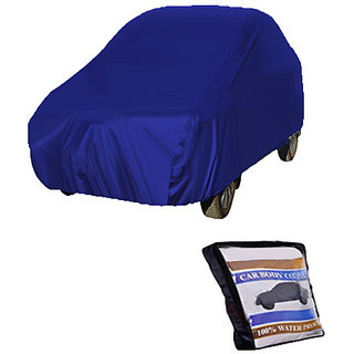 Car Body Cover Ford Figo - Parashute Blue
