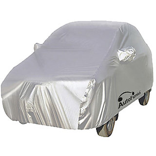 Autofurnish Car Body Cover For Tata New Vista - Premium Silver