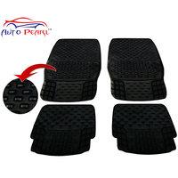 Auto Pearl - Premium Quality Heavy Duty Black 4Pc Pvc Rubber 93043 Smoke Car Mat For - Maruti Suzuki Alto K10