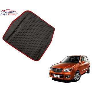 Auto Pearl - Premium Quality Ultra Thin Heavy Duty Car Floor Boot Lamination Red Black PVC Carpet  - Maruti Suzuki AltoK10