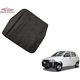 Auto Pearl - Premium Quality Ultra Thin Heavy Duty Car Floor Boot Lamination Black PVC Carpet  - Maruti Suzuki Alto