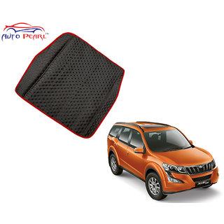 Auto Pearl - Premium Quality Ultra Thin Heavy Duty Car Floor Boot Lamination Red Black Pvc Carpet - Mahindra Xuv 500-2015(LaminationRBBootXUV5002015)