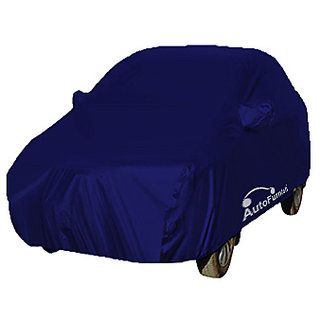 Autofurnish Car Body Cover For Hyundai Verna Fluidic - Parker Blue