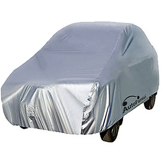 Autofurnish Car Body Cover For Fiat Punto - Silver
