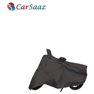 Carsaaz Bike Body Cover Grey for TVS Fiero F2