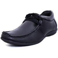 Black Tiger Men's Black Casual Shoes