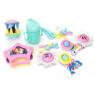 BABY JOY RATTLE SET (10pc)