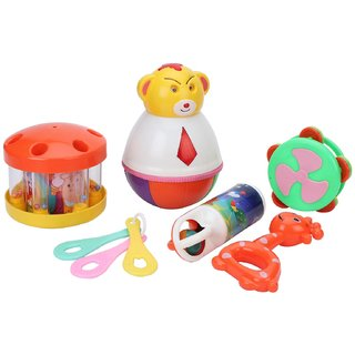CARRY ON RATTLE SET (6pc)