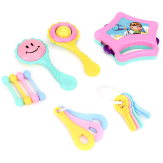 LITTLE DOLL RRTTLE SET (6pc)