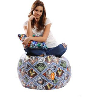 28%off ORKA Ultimate Avengers Digital Printed Bean Bag Filled with Beans  sc 1 st  Comparometer.IN & Bean Bag With Beans Price List in India 21 September 2018 | Bean Bag ...