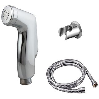 Prestige jaquar Health faucet (abs)with 1mtr flexible SS Tube and Wall Hook