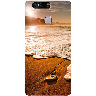 Casotec Sun Set Beach Design 3D Printed Hard Back Case Cover for Huawei P9