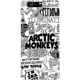 Casotec Arctic Monkeys Pattern Design 3D Printed Hard Back Case Cover for Huawei P9